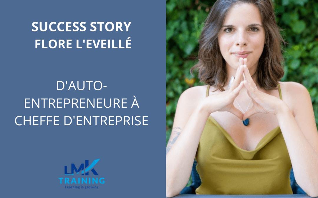 D'auto-entrepreneure à cheffe d'entreprise – Flore L'Eveillé