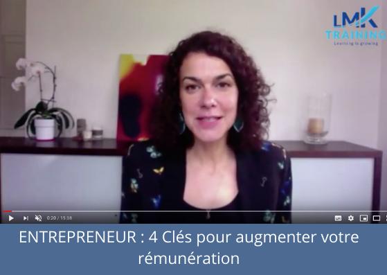 Entrepreneurs : 4 clés pour augmenter votre rémunération